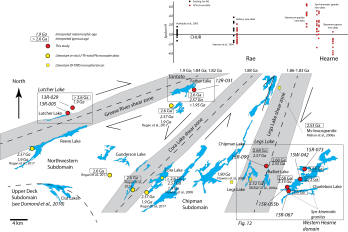 Transect diagram